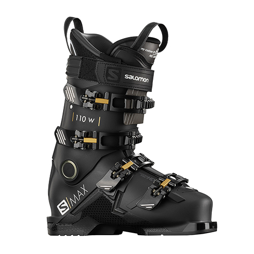 1920 살로몬 스키부츠SALOMON S/MAX 110 W Black/Gold Glow/Belluga